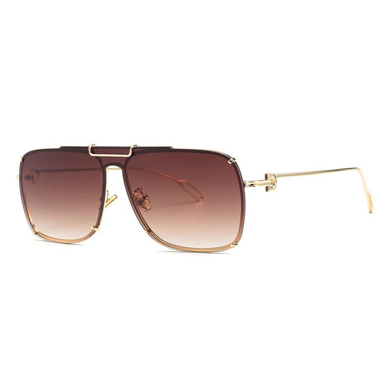 c87e21793 Compre Gafas De Sol Cuadradas De La Vendimia Accesorios Para Hombres  Diseñador De La Marca Anteojos Gafas De Sol Gafas UV400 Gafas Gafas Oculos  23064DF A ...