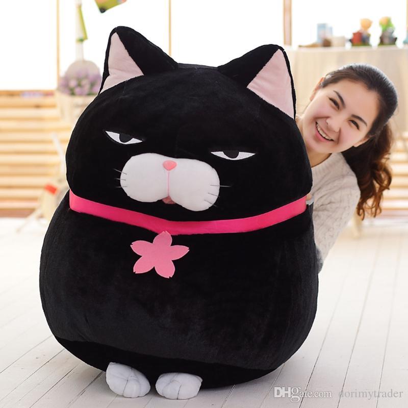 Acquista Dorimytrader Jumbo Giappone Anime AMUSE Gatto Giocattolo Morbido  Peluche Cartoon Giant Cats Bambola Regalo i Grande Decorazione Regalo 31  Pollici ... b6dd9597a849