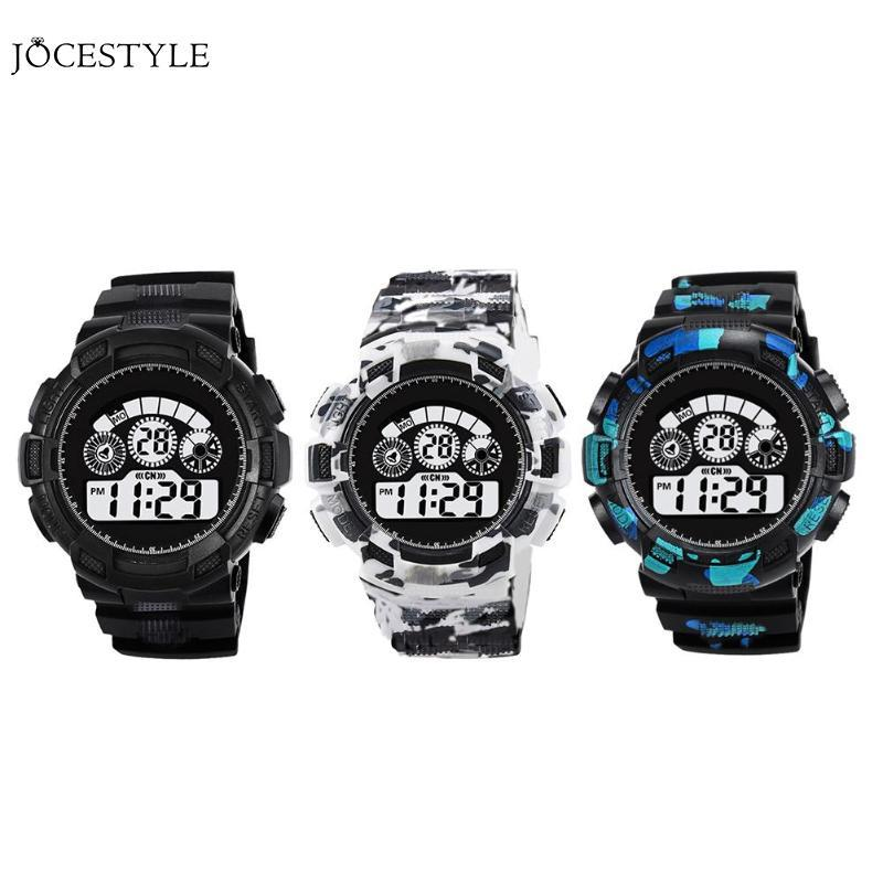 Sports Watches Men Alarm Waterproof Watch LED Electronic Teen Luminous  Alarm Digital Wristwatches Relogio Masculino Online Shopping Clothes  Waterproof ...