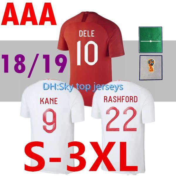 d27fa0f2a Kids Kit 2018 Soccer Jersey World Cup ROONEY Home KANE STURRIDGE ...