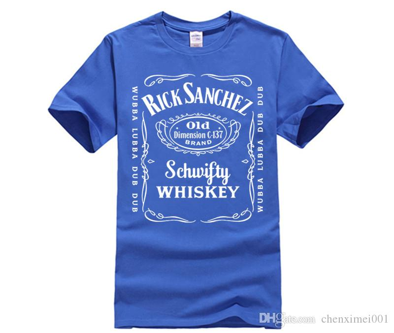 4581d206597 Men S Summer T Shirts Short Sleeve Rick And Morty Jack Daniels Youth Short  Sleeve Tshirt Funny Printed Tee Shirt Awesome T Shirts For Guys Cool Tee  Shirt ...