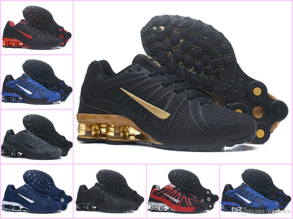 cheap for discount f5821 568b2 Compre 2018 Original Shox Deliver 801 Hombres Air Avenue Zapatillas OZ  Diseñador Blanco Apagado Chaussures DELIVER NZ Mens Athletic 270 TN Maxes  Zapatillas ...