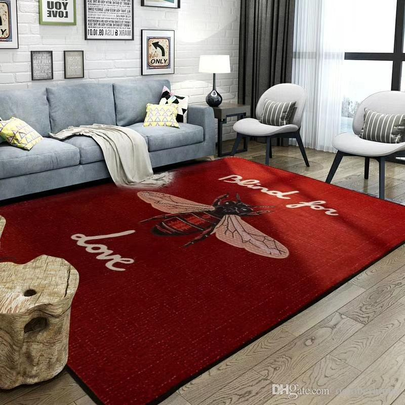Big Bee Red Carpet European And American Non Slip Carpet Fashion ...