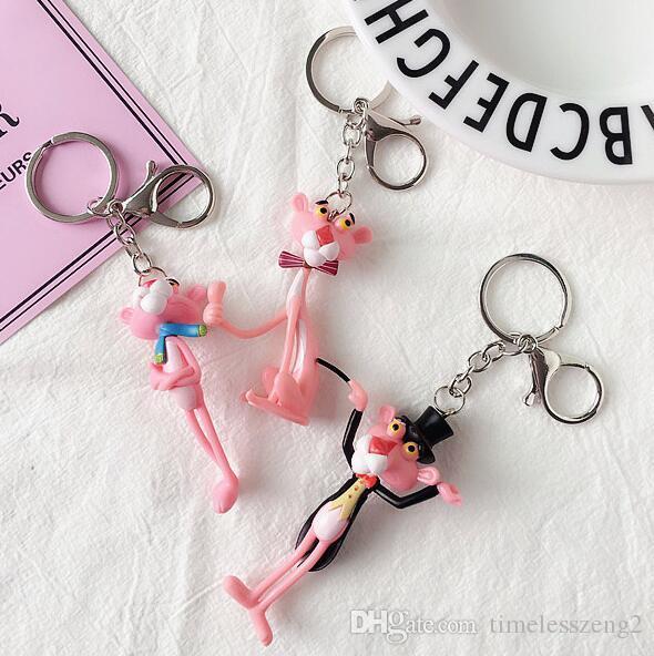 Hermoso diseño de estilo europeo lindo llavero harajuku llavero lindo de dibujos animados llavero lindo bolso de regalo accesorios multicolor
