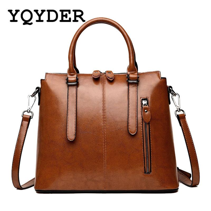 Famous Brand Women Top Handle Bags Designer PU Leather Handbags Ladies  Casual Shoulder Messenger Bags Sac A Main Tote Bag Cute Bags Purses For  Women From ... a63eeb56f4036
