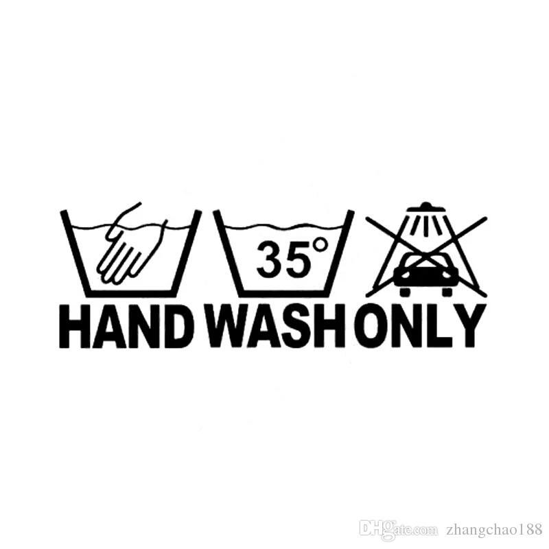 16.5 * 5.3 CM Lavar a mano Sólo una calcomanía con una calcomanía con una calcomanía de un automóvil de motocicleta interesante CA-144
