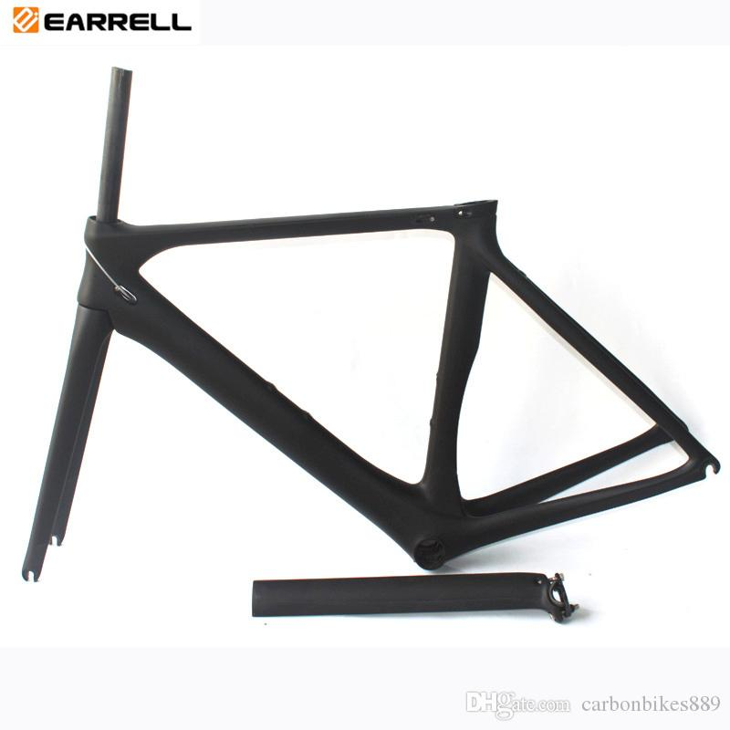 Carbon Road Bike Frame 2017 T1000 Black Road Bike Bicycle Frame 50/53/56cm Chinese cheap Carbon Frame Road Bikes