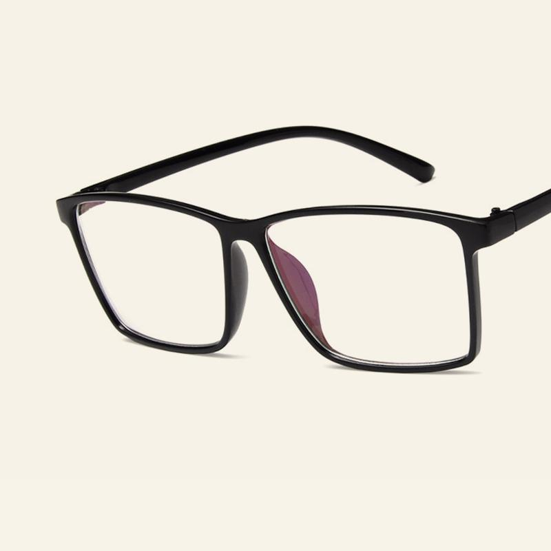 2018 New Trendy Big Frame Spectacles Men Women Fashion Casual Myopia ...