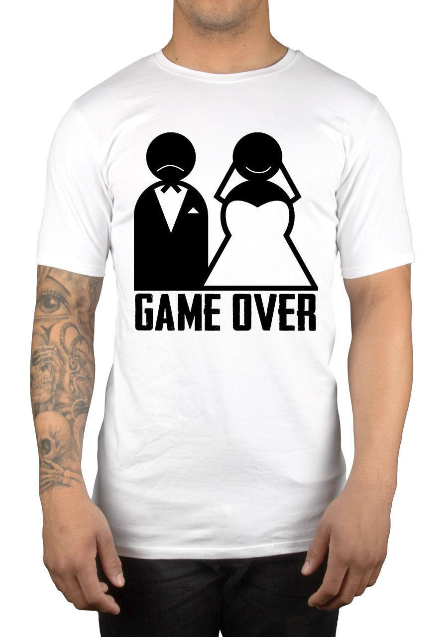 6f5205b37 Game Over Graphic T Shirt Just Married Great Gift Idea Mr Mrs Present 24  Hour T Shirt Rude Tshirts From Linnan03, $14.67| DHgate.Com