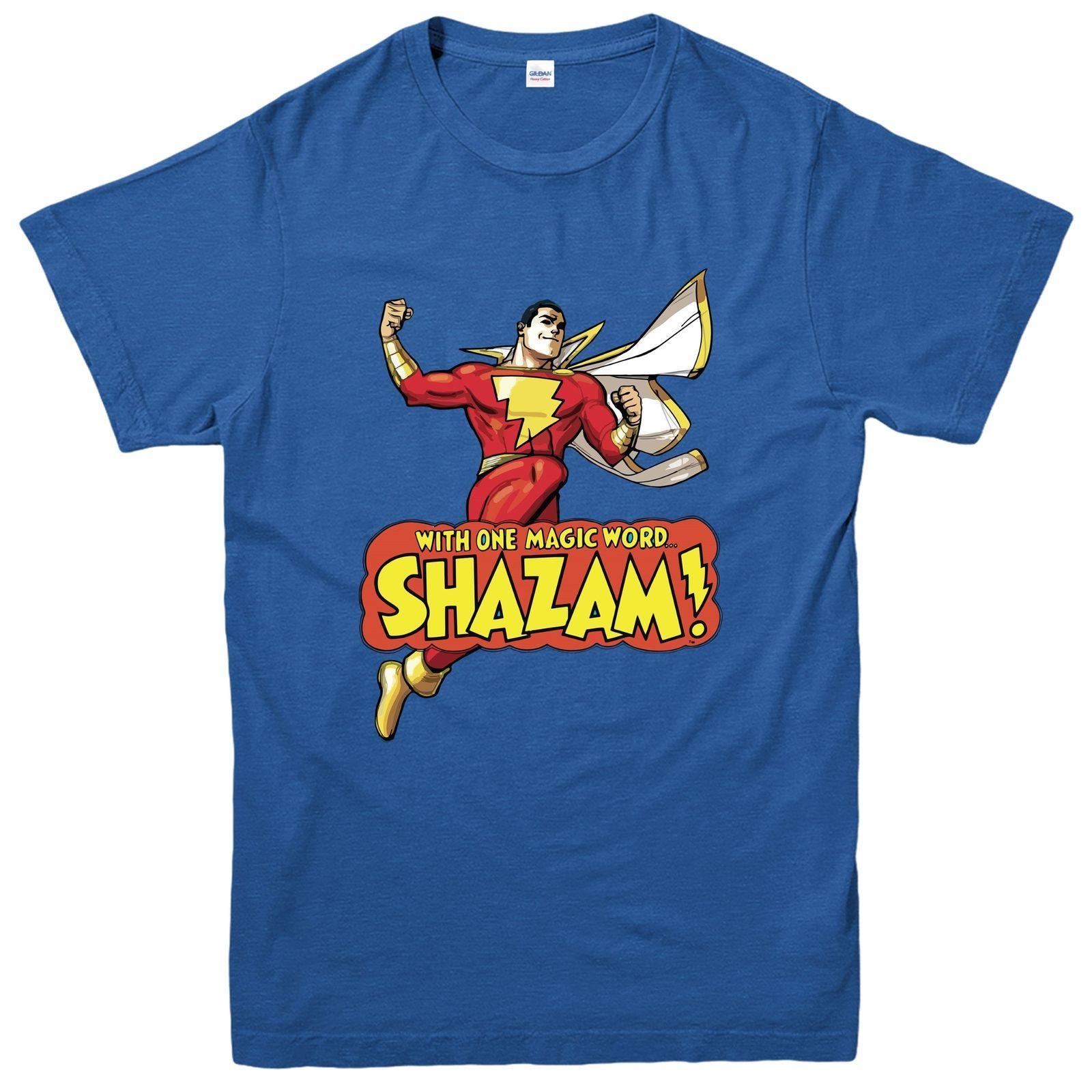 Dc Capitaine Comics ShazamT Héros ShirtShirt Du MarvelSuper Inspiré De WEDH29I