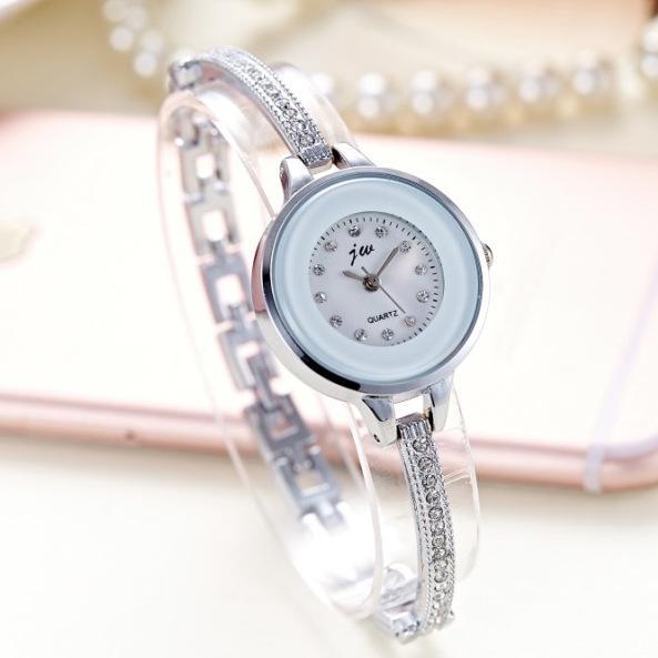 617149b62d New Fashion Jw Rhinestone Watches Women Luxury Brand Stainless Steel ...