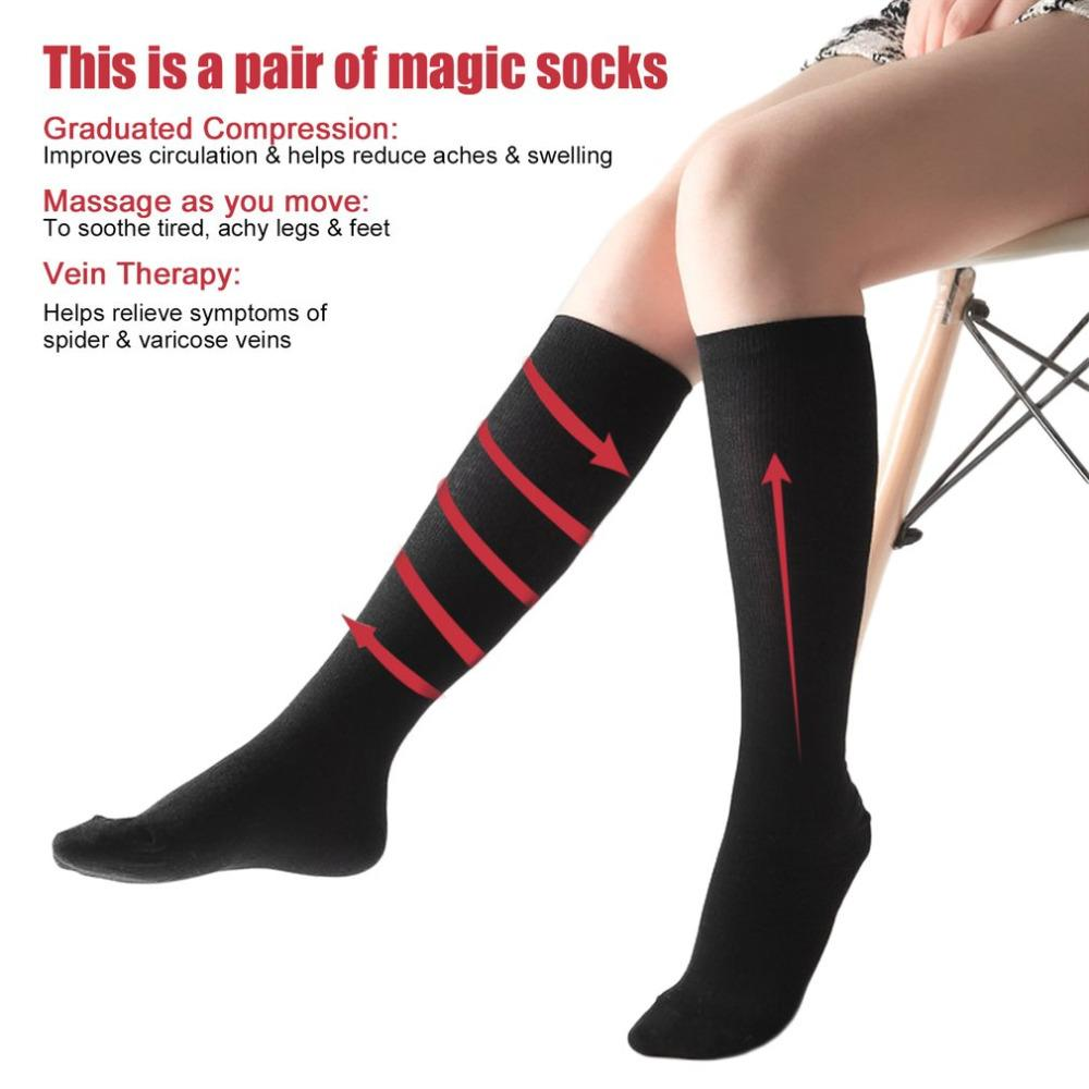 b19e2ad8fa 2019 Men Women Comfortable Stockings Slim Fit Relief Soft Unisex Miracle  Copper Anti Fatigue Compression Stocking Shaping Stocking From Karel, ...