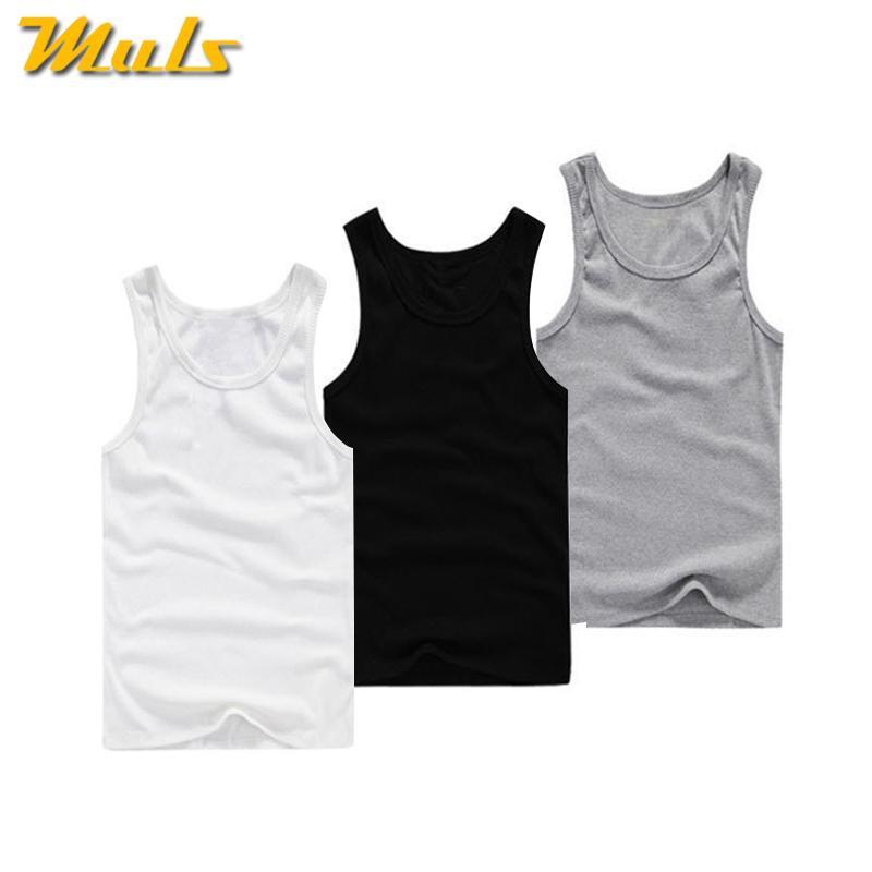 dd0ebf3557e7d Cotton Tank Tops Men Summer Male Sleeveless Vest Underwear ...