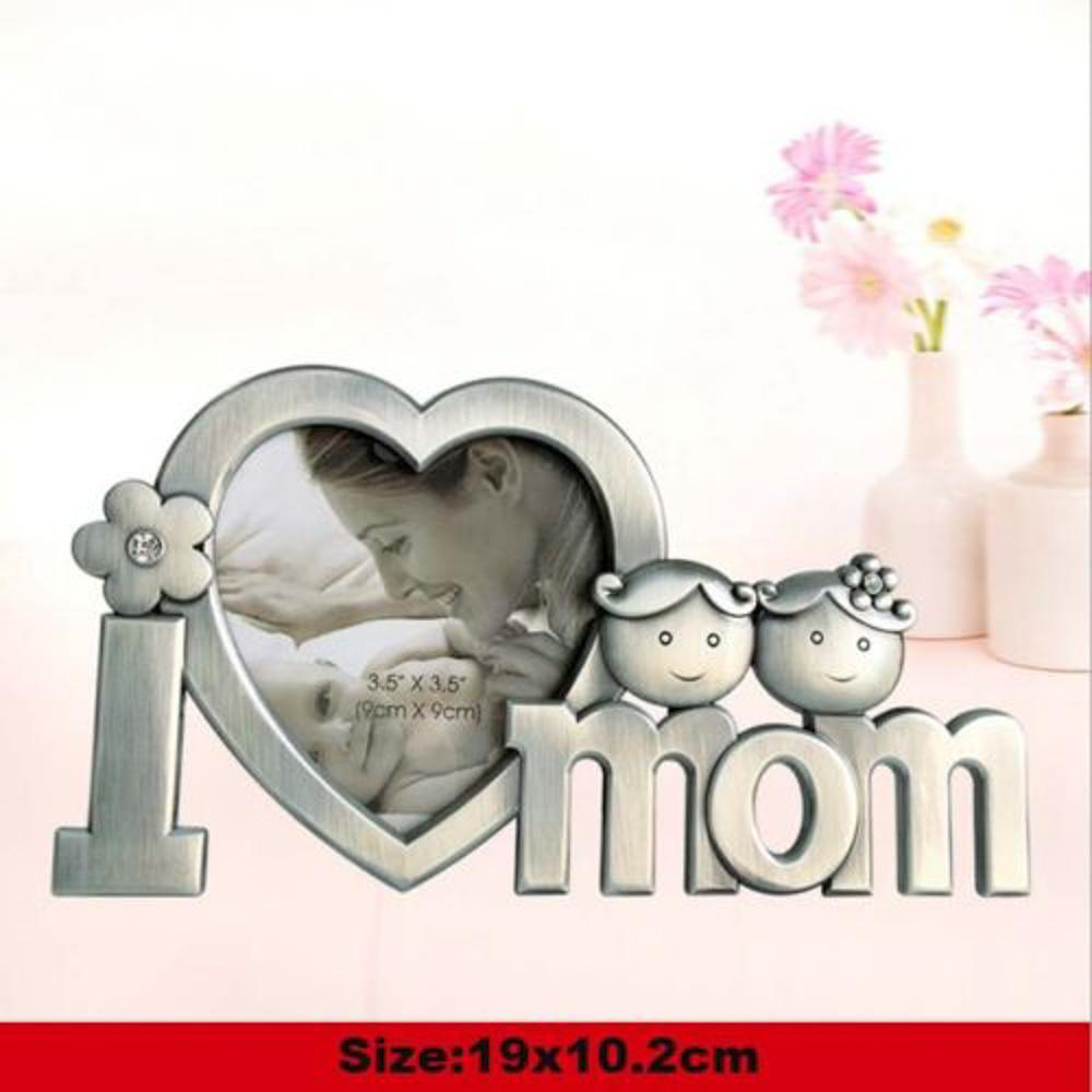 Creative Metal Photo Frame Mothers Day Gift Personality Cute Favor