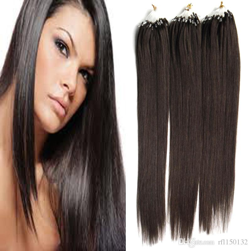 Cheap 7a Micro Loop Brazilian Extensions 300g 202224 Remy Micro Loop