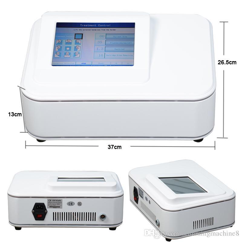 Liposonix hifu المحمولة سطح المكتب تشديد الجلد آلة ضئيلة للاستخدام المنزلي مع شاشة تعمل باللمس 10 بوصة TFT