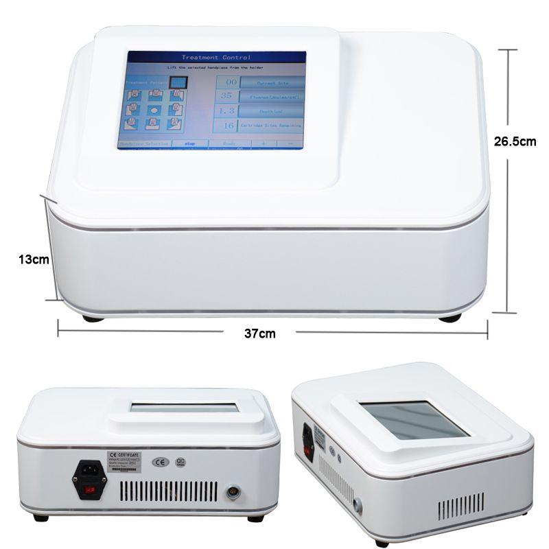 Perda de peso levantamento da pele máquina hifu liposonix emagrecimento equipamentos de beleza de remoção de gordura corporal com 2 cabeças 576 pontos