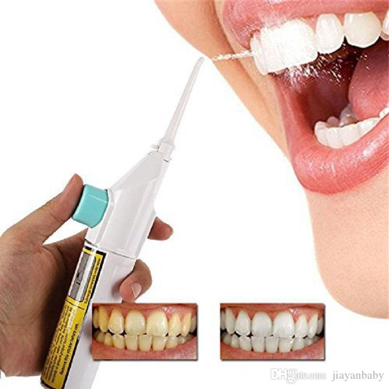 Oral Irrigator Dental Water Jet Floss Pick Teeth Cleaning Flusher Air Powered Tooth Cleaning Sets, With retail box