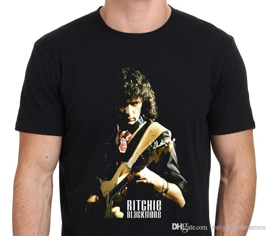 baafafe0fa Work Shirts Novelty Short Ritchie Blackmore Heavy Metal Rock Guitarist  Men'S Black T Shirt Size: XS To XXL O Neck Tees For Men Buy Shirts T Shirt  Designers ...
