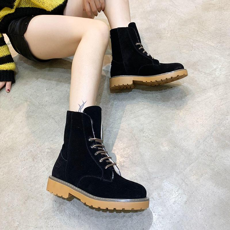147d80ef995f5 Winter Women Shoes Boots Warm Fur Plush Lace Up High Top Lady Shoes Zapatos  De Hombre Footwears Keep Warming Boots With Origin Box Delivery Ariat Boots  Work ...