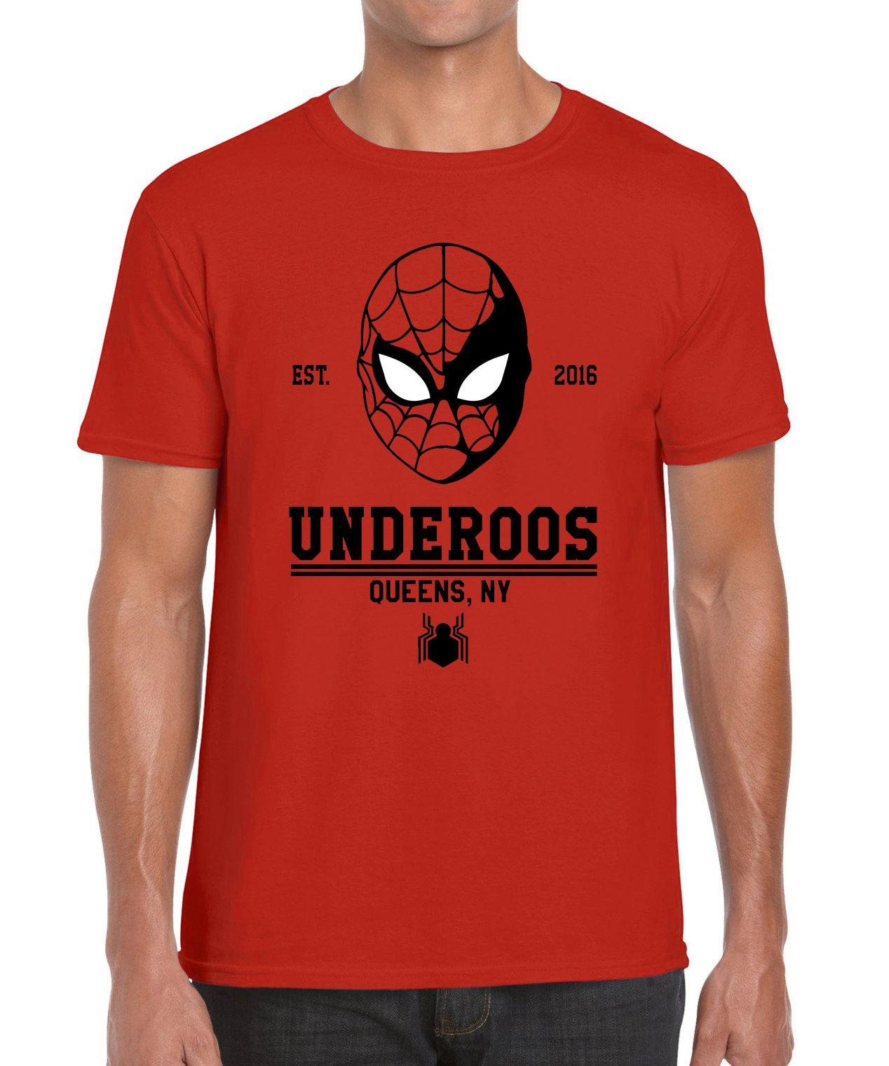 db33fa9f Underoos Spider Man University Marvel Civil War Parody Inspired Graphic T  Shirt Irish T Shirts Art T Shirts From Funnytees, $15.72| DHgate.Com