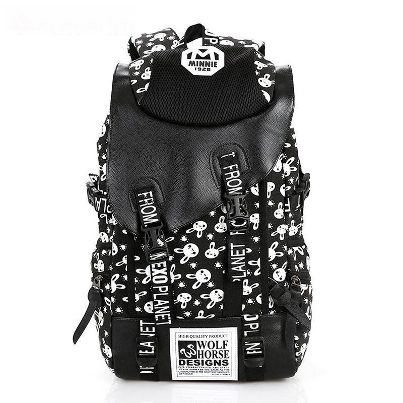 f26262f49fa2 2017 Vintage Girl School Bags For Teenagers Cute Dot Printing Canvas Women Backpack  Mochila Feminina Casual Bag School Backpack Vintage School Bags Cute ...