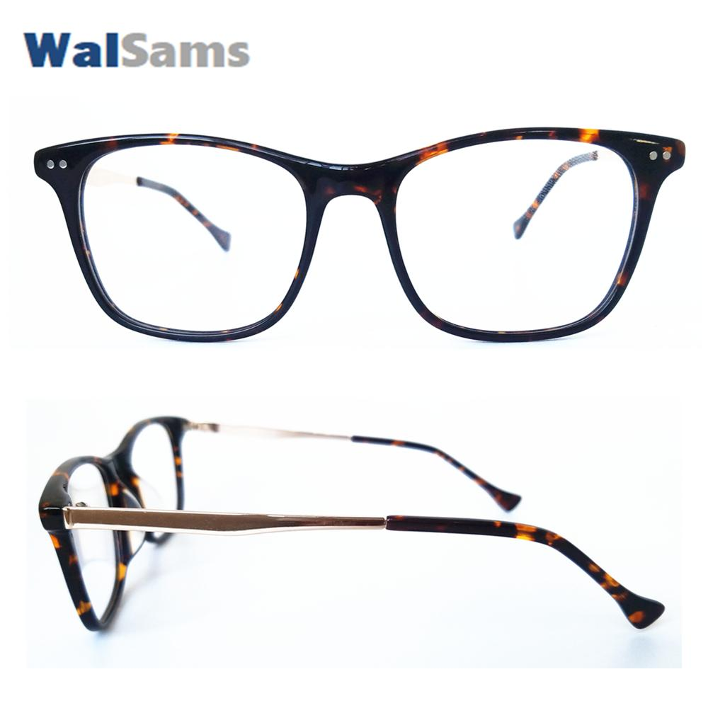 02a1dccac78f 2019 Mens Classic Eyeglasses Frame With Glasses Case Demo Lens Rectangle Acetate  Frame Can Change To Reader Prescription Lens Sams05 From Ravishing