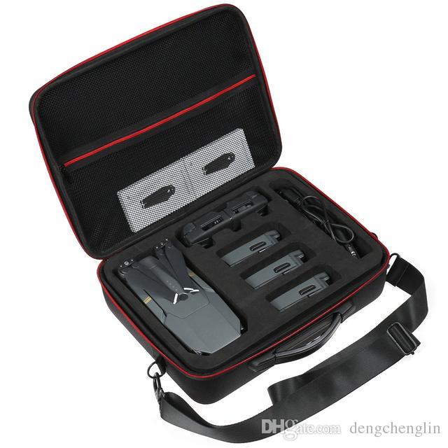 EVA DJI Mavic Pro Drone Için Sert Taşıma çantası Çanta aksesuarları Depolama Omuz Kutusu Sırt Çantası Çanta Bavul Mavic Pro Kablosu için ücretsiz kargo