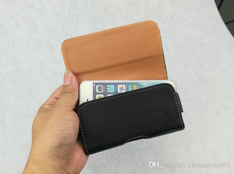 Saco da cintura bolsa caso de telefone fecho de pressão magnética universal mobile phone belt coldre clipe pu capa de couro para o iphone samsung