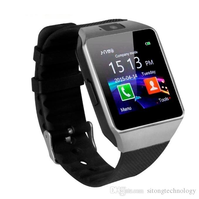 370d3c5294c 2019 Bluetooth Smart Watch Smartwatch DZ09 Android Phone Call Relogio 2G  GSM SIM TF Card Camera For IPhone Samsung HUAWEI PK GT08 A1 Smart Watches  Sport ...