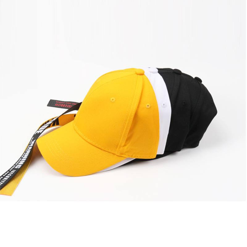 2018 Black Summer Baseball Cap Sun Visor Casual Caps Long Rope Hip Hop  Snapback Letter Casquette Homme Caps Men Women Sport Cool Flat Bill Hats  Baseball Hat ... f9ce90e5e7d