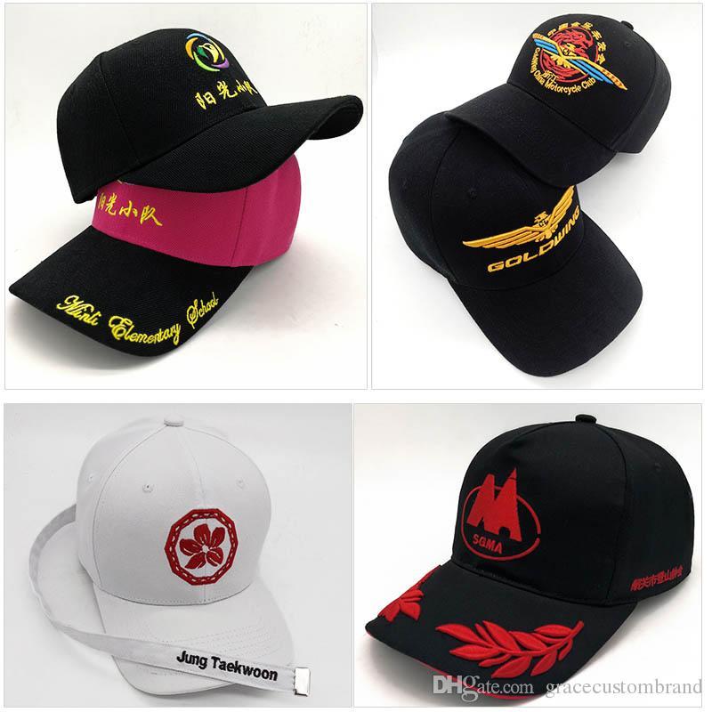 Fabrika Doğrudan Özel Adultkids Trucker Cap Kavisli Tepe Aktif Güneş Snapback Özel Logo / Mektup Şapkalar 3D Nakış Beyzbol Şapka Ayar