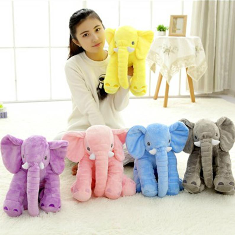 2019 Small Elephant Toys For Baby Kids Playmate Cute Soft Stuffed