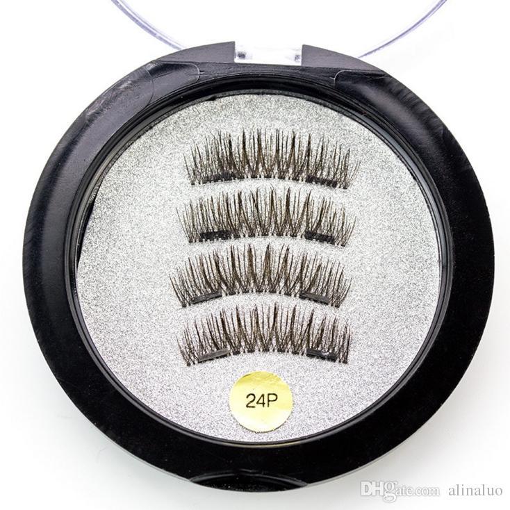 906ccf78427 Fake Eyelashes Hot 3D Double Magnetic Eyelashes Magnet Half/Full Strip Glue  Free 2 Magnet Eyelashes Handmade False Eyelash Supplier China Car Lashes  Eye ...