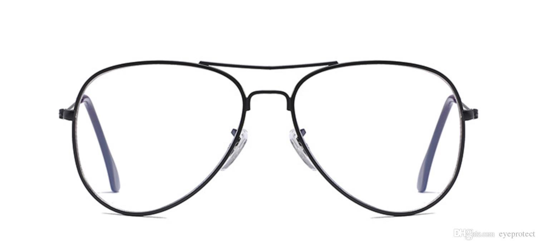 ... Acquista Montatura Occhiali Da Vista Con Montatura In Metallo Sottile  Unisex A 20.31 Dal Eyeprotect DHgate ... debf7b21c92