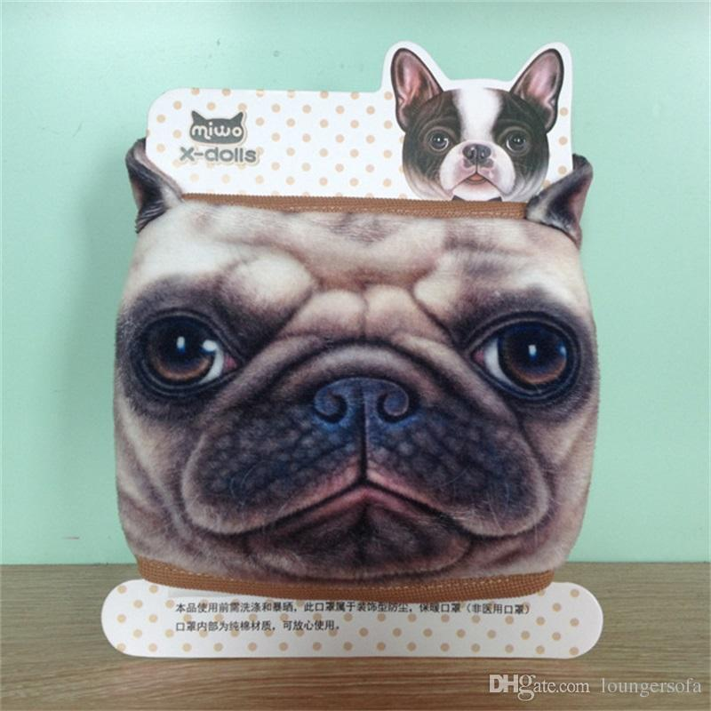 Outdoors Cotton Dust Proof Keep Warm Half Face Mask Cartoon Lovely Dog Print Masks New Arrival 3 8ak W