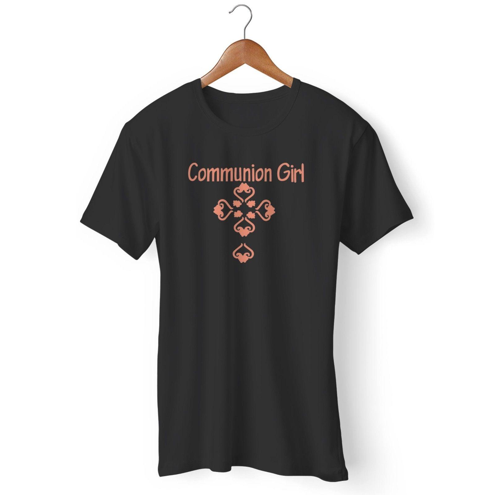 Girl'S First Holy Communion Man'S / Woman'S T ShirtFunny Unisex Casual Gift Cool Shirts Online All Shirts From Fashionistas_tees, $12.96| DHgate.Com