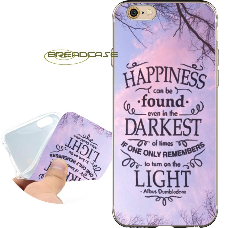hot sale online 71a02 63eb5 Capa Harry Potter Hogwarts Shell Cases for iPhone 10 X 7 8 6S 6 Plus 5S 5  SE 5C 4S 4 iPod Touch 6 5 Clear Soft TPU Silicone Cover.