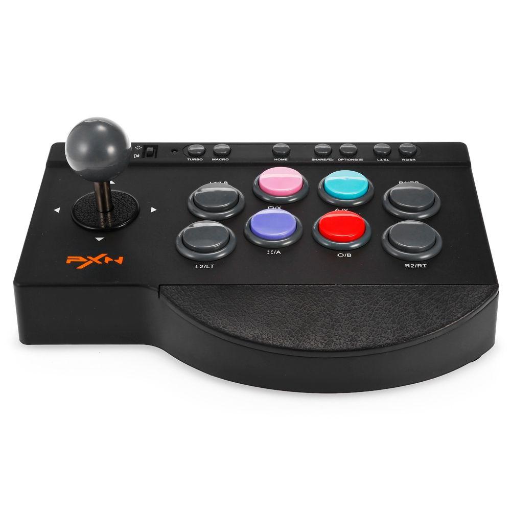 PXN 모바일 게임 컨트롤러 USB 유선 아케이드 조이스틱 게임 핸들 컨트롤러 Gampad 게임 제어 핸들 스마트 폰용 PC