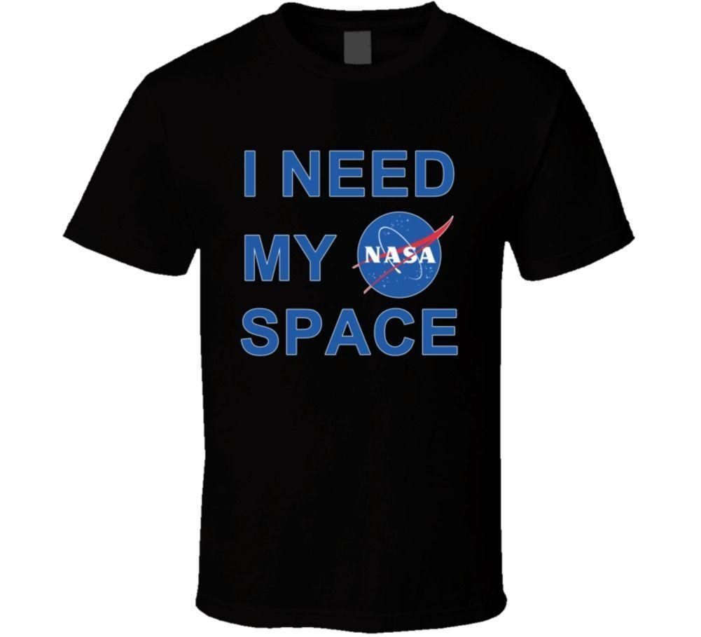 I Need My NASA Space Program Travel Dark T Shirt