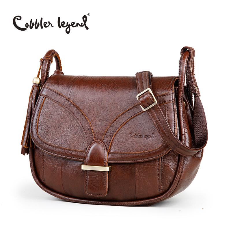 b9c950ff3f8a Cobbler Legend Brand Designer 2018 Women S Genuine Leather Vintage Single Shoulder  Bag Women Crossbody Bags Handbags For Ladies D18101005 Fashion Bags ...