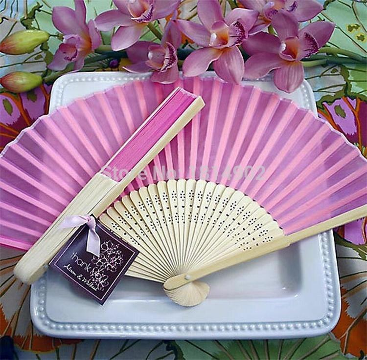 Wholesale Silk Hand Fan Wedding Favor Supplies Wedding Gifts