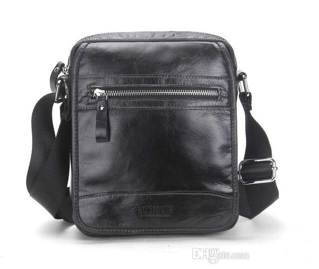 0fec8db3e8b9 Brand Designer-New Collection Fashion 2018 Men Bags Genuine Leather  Messenger Bag High Quality Man Brand Business Bag Men s Handbag Men s  Handbag Men s ...