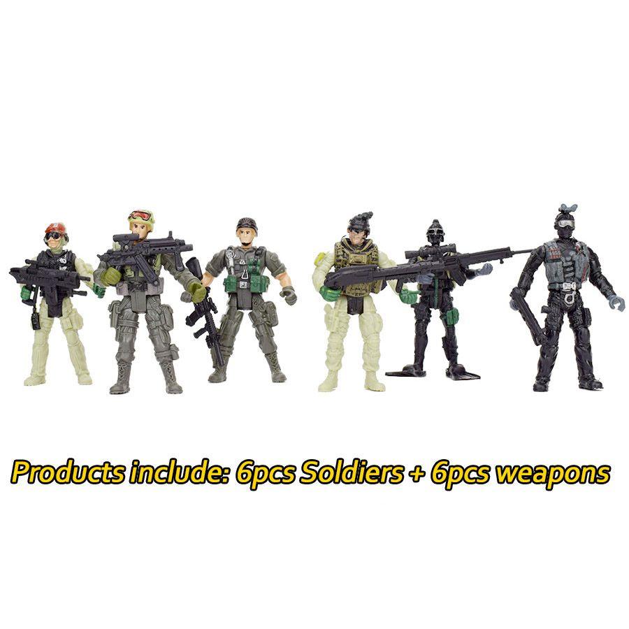 Großhandel 360 Grad Drehbare Abnehmbare Amerikanische Soldaten ...