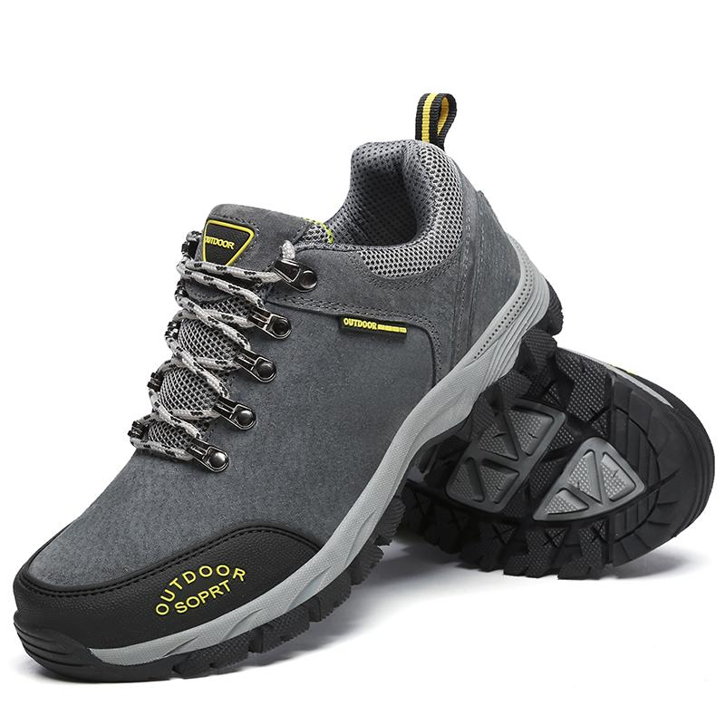 71ba2e52c9a Man Fashion Hiking Shoes Men Climbing Breathable Sport Walking Hunting  Athletic Outdoor Waterproof Sneakers Safety Work Shoes Wedge Shoes Boots  Online From ...