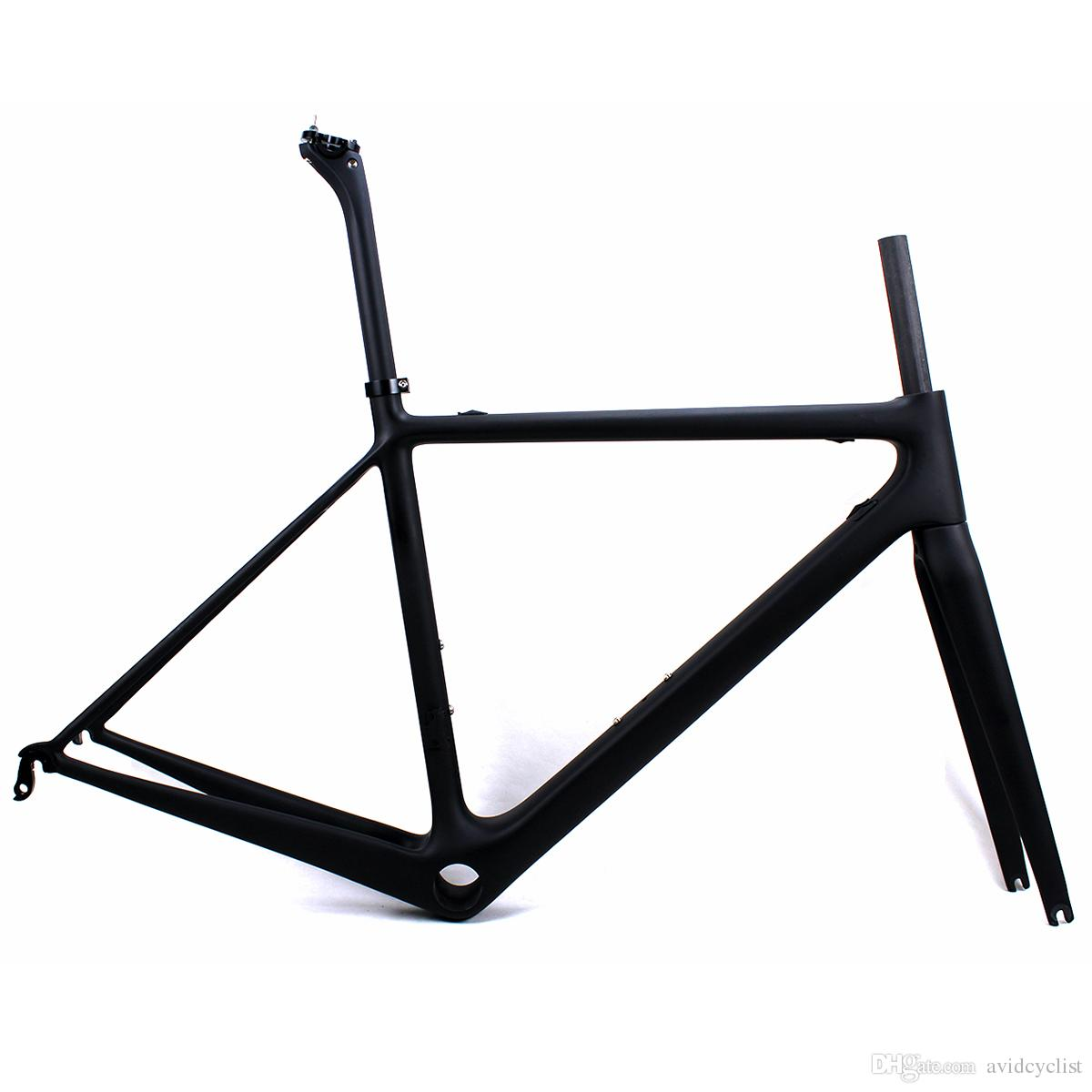 Carbon road bike frames carbon racing bicycle frame cycling frameset matt BB shell BBright