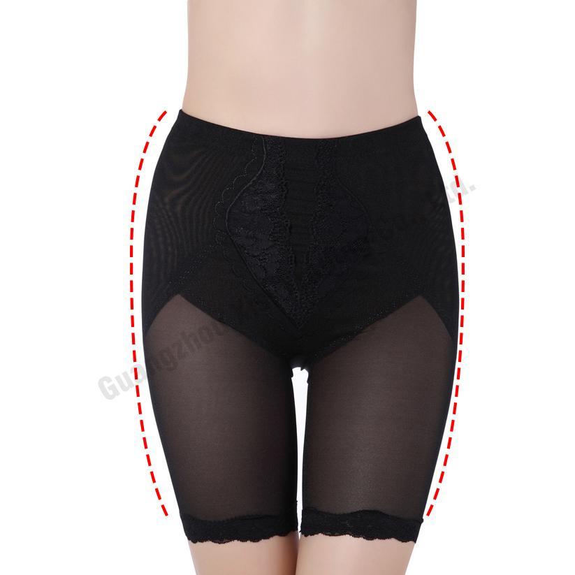 cff6b7979a New Sexy Lace Mesh Mid Tummy Control Panties Waist Shapewear Plus ...