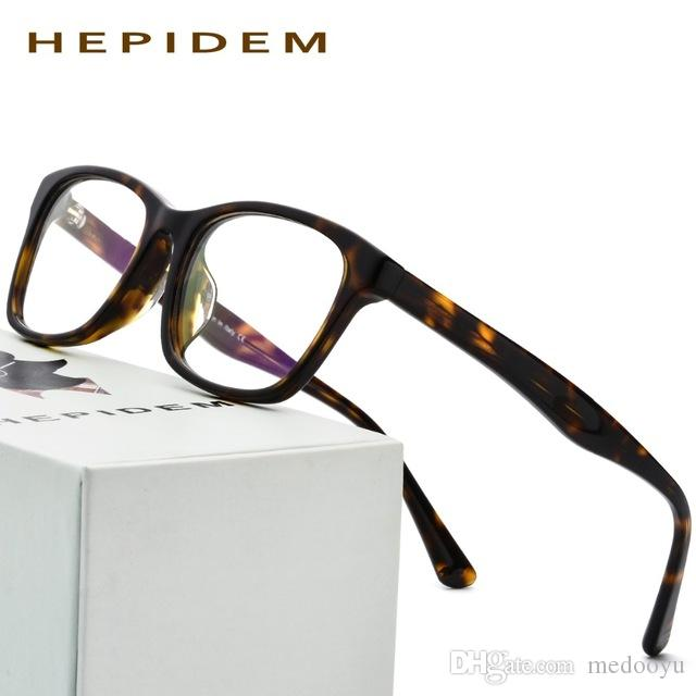 ae9c7459da Acetate Men Square Glasses Frame Women Brand Designer Eyeglasses Myopia  Optical Prescription Nerd Computer Spectacles Eyewear 9101 Acetate Optical  Glasses ...