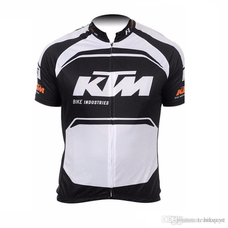 KTM Team Cycling Jersey 2018 New Men Cycling Jersey Cycling Clothes 100%  Polyester Short Sleeve Bicycle 840208 Long Sleeve Shirts For Men Long Sleeve  T ... 93e886c0c