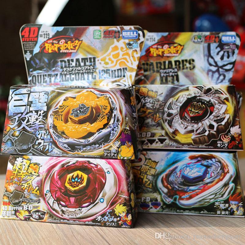 Constellation Burst New Kid Çocuk Boy Toy İplik Üstler Clash Metal 4D Beyblades Bebekler Patlatma Alaşım 4D Gyro Oyuncak Setleri Montajlı